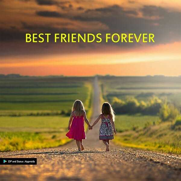 #friends forever.. - BEST FRIENDS FOREVER DP and Status : Approids - ShareChat