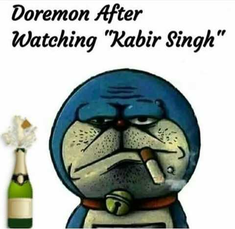 funny - Doremon After Watching Kabir Singh - ShareChat
