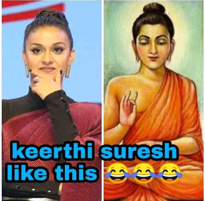 funny😆😆 - keerthi suresh like this - ShareChat