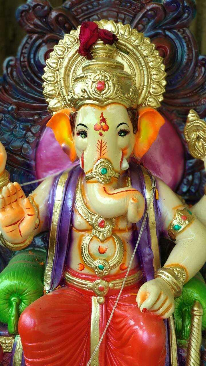 ganpati bappa  moriya - ShareChat
