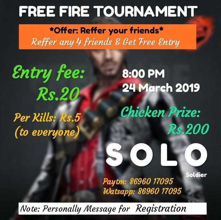 Tren Untuk Free Fire Tournament Poster Koleksi Poster