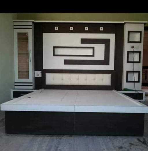 Bedroom Ghar Ki Sajawat Photo - Home Design Ideas
