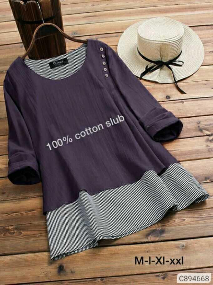 girls - 100 % cotton slub M - I - XI - xxl C894668 - ShareChat