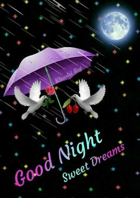 gn - Khushi Rail Good Night Sweet Dreams - ShareChat