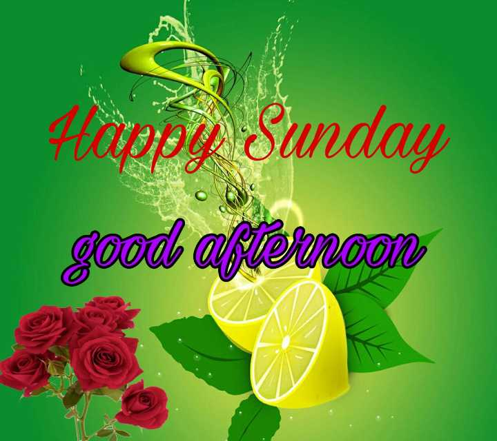 good afternoon ❤ - - Happy Sunday ിം യൂത്ത - ShareChat