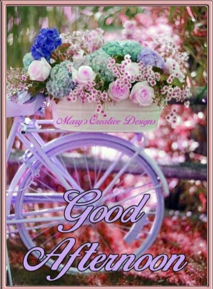💮💮good afternoon 💮💮 - Mary ' s Creative Designs NOON - ShareChat