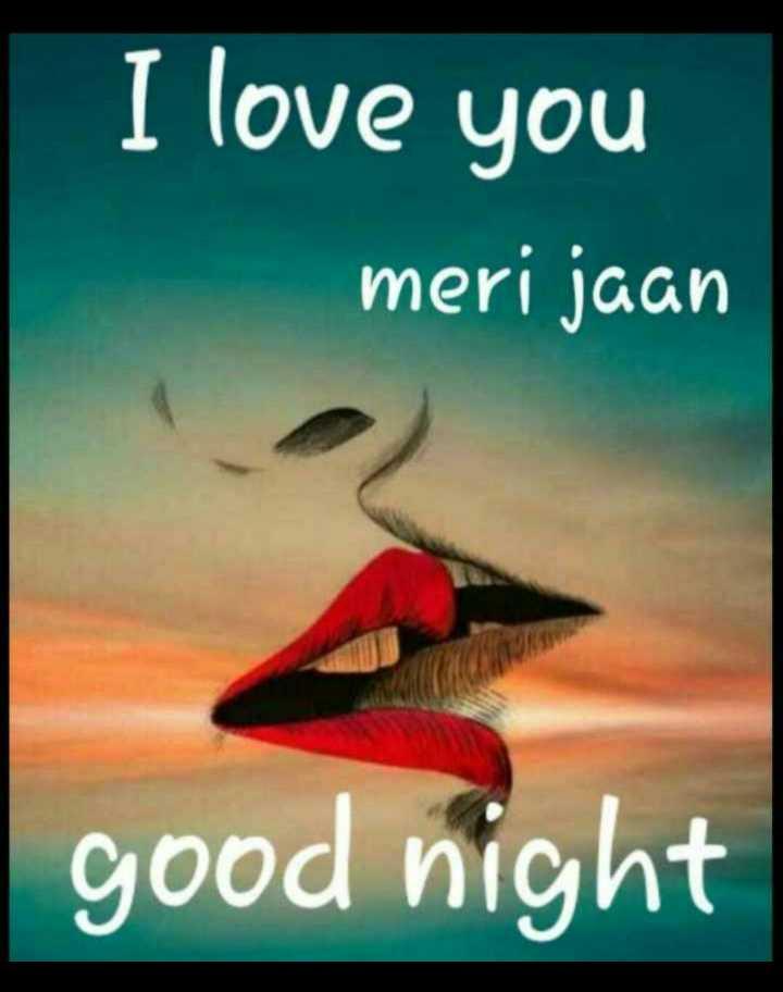 good mornig good night - I love you meri jaan good night - ShareChat