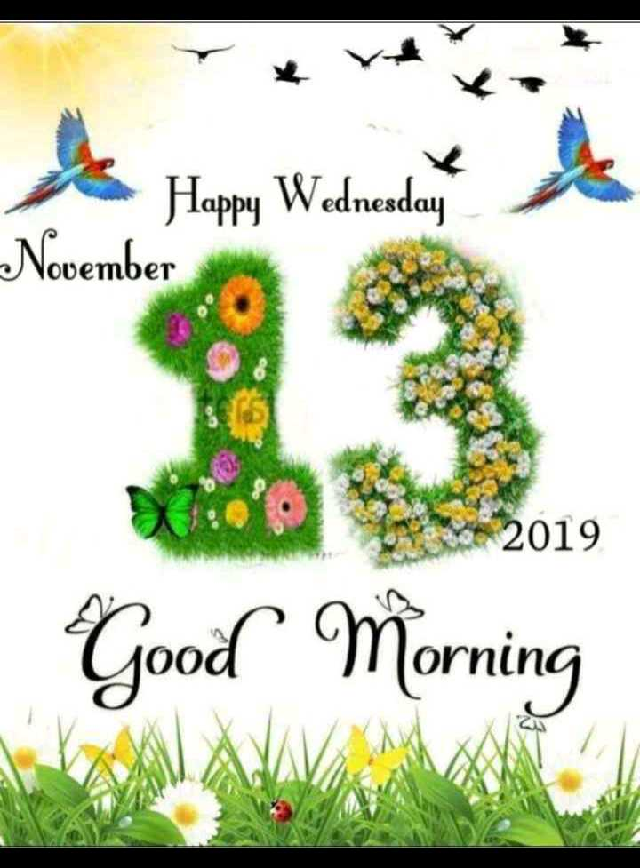 😊💐good morning 😊💝 - Wyk Happy Wednesday November 2019 Good Morning - ShareChat