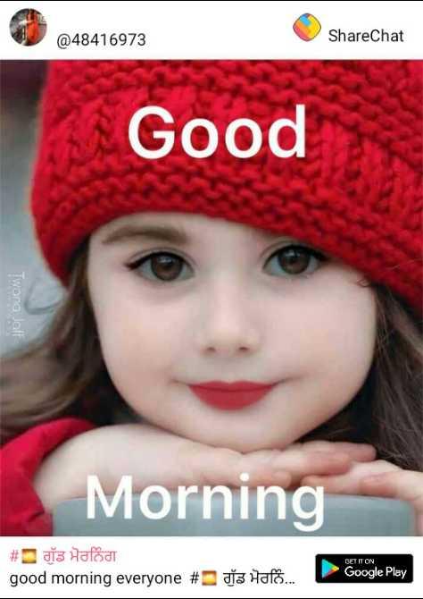 🌷🌻🌷🌻good morning - 248416973 @ 48416973 ShareChat Good Twana Joff Morning # dis Halod good morning everyone # da Halo . . . Google Play - ShareChat