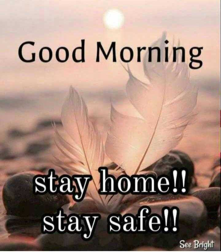 good morning 🙏🙏 - Good Morning g stay home ! ! stay safe ! ! See Bright - ShareChat