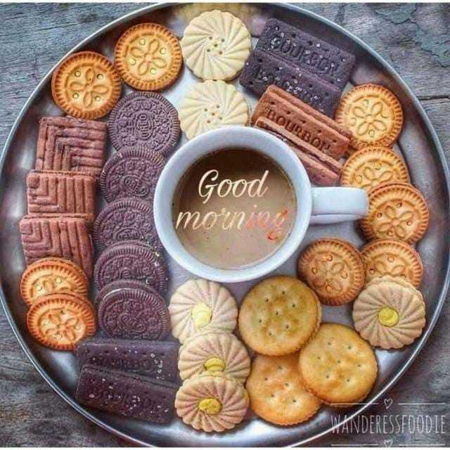 good morning 🌄 - BOURBON Good mounin AVDERESSFOODIE - ShareChat