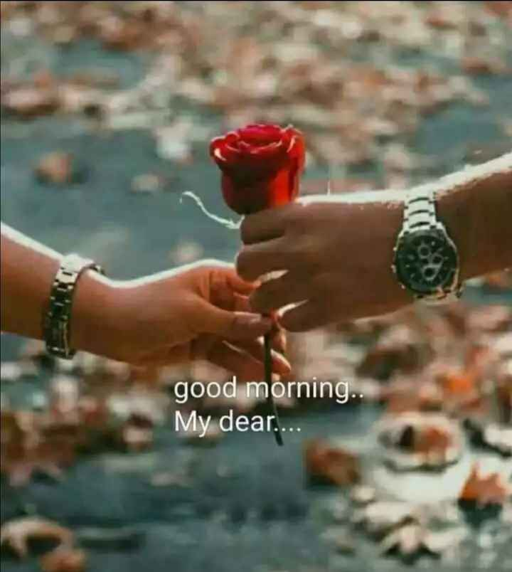 🍫good morning🍫 - good morning . . My dear . . . . - ShareChat
