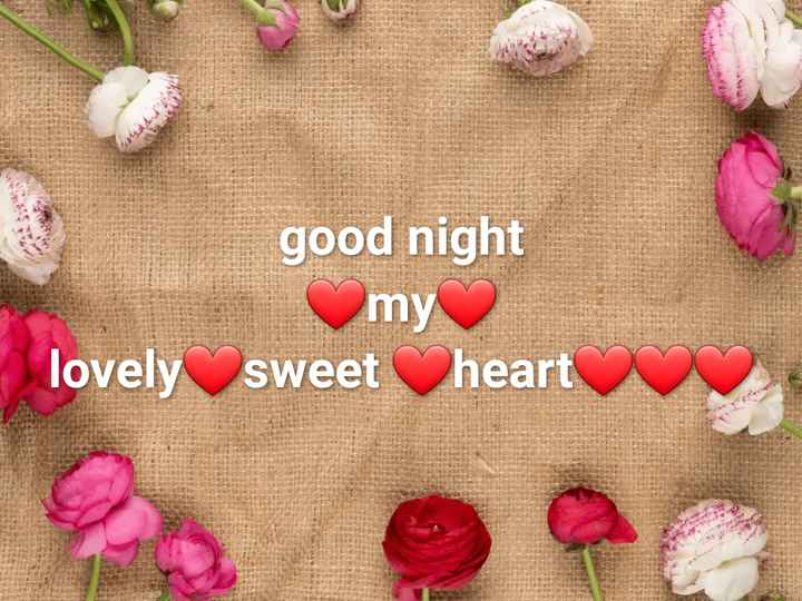 good night  బంగారం - good night my lovely sweetheart - ShareChat