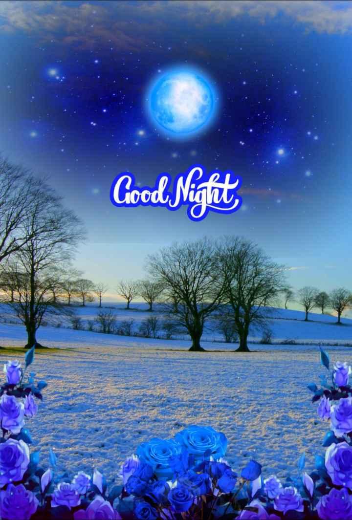 good night 🌺🌺 - Good Night , - ShareChat