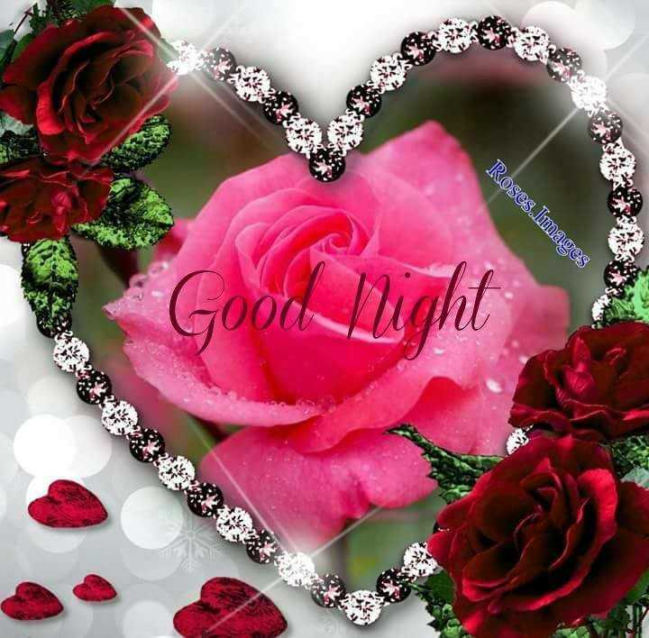 good night - Roses Images - ShareChat