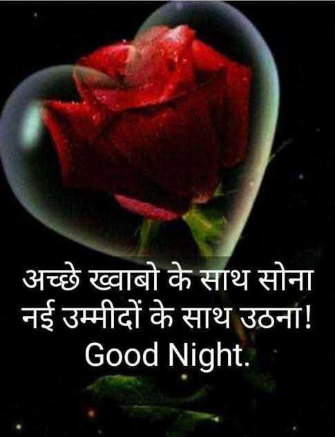 🌙 good night 🌙 - अच्छे ख्वाबो के साथ सोना नई उम्मीदों के साथ उठना ! Good Night . - ShareChat