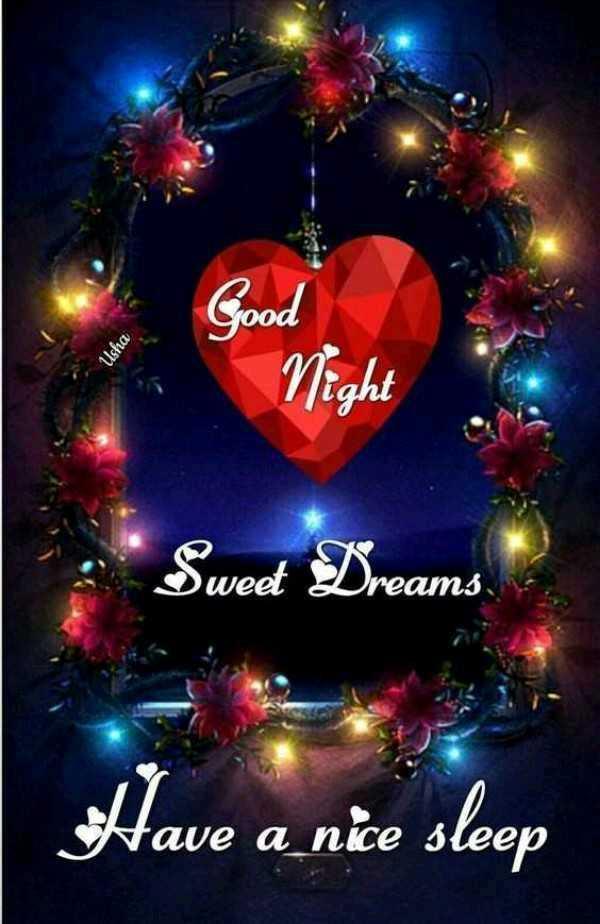 🎶🎵🌓🌓good night🌓 🌓🎵🎶 - ood Ushia Nigh Sweet Dreams Have a nice sleep - ShareChat