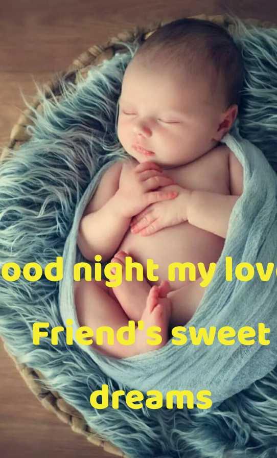 good  night - ood night my lov Friend sweet dreams - ShareChat