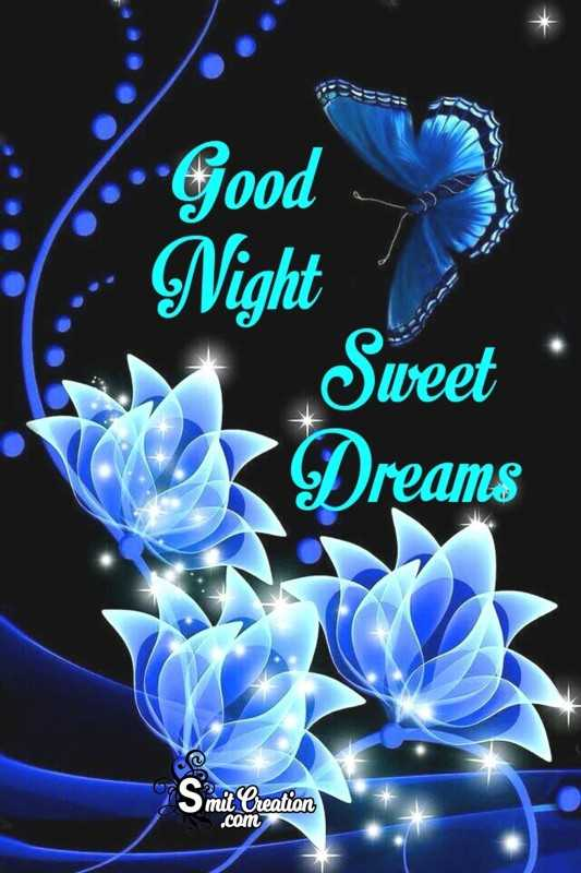 🌙 good night 🌙 - : Good • Night Sweet SOY Dreams © mit Creation . com - ShareChat