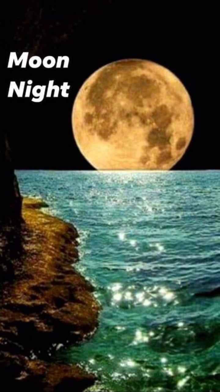 🌙 good night 🌙 - Moon Night - ShareChat
