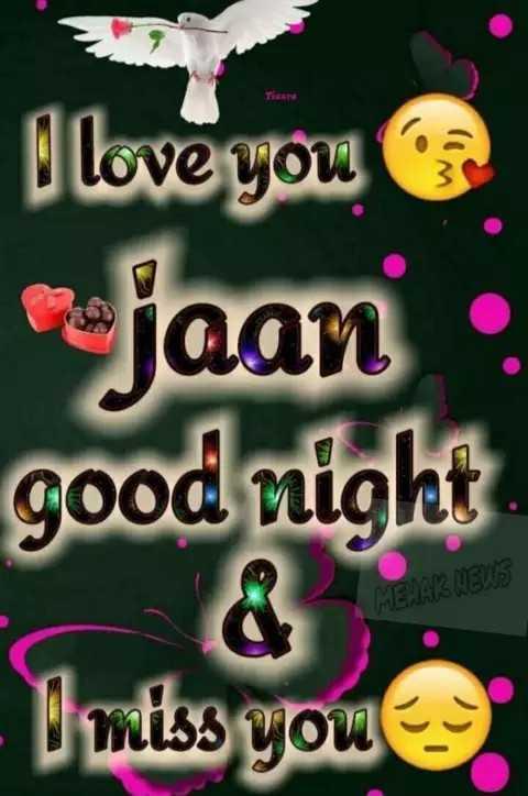 🎇good night🎇 - Tisane I love you jaan . good night - miss you - ShareChat