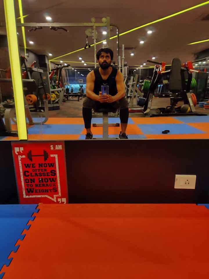 gym freak - Belum TELE S AM WE NOW OFFER CLASSES ON HOW TO RERACK WEIGHTS - ShareChat