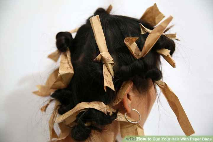 hairstyle - wikiHow to Curl Your Hair With Paper Bags - ShareChat