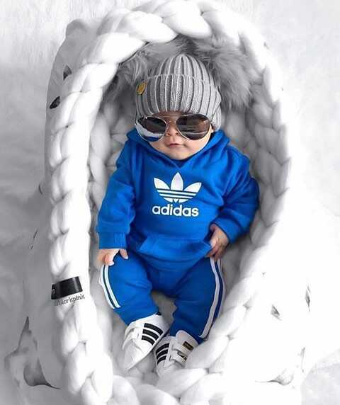 👶🏼 happy Baby day - adidas - ShareChat