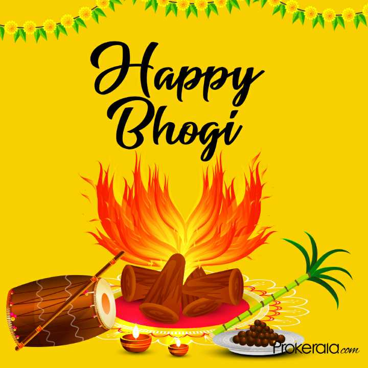 happy bhogi - Happy Bhogi Prokerala . com - ShareChat