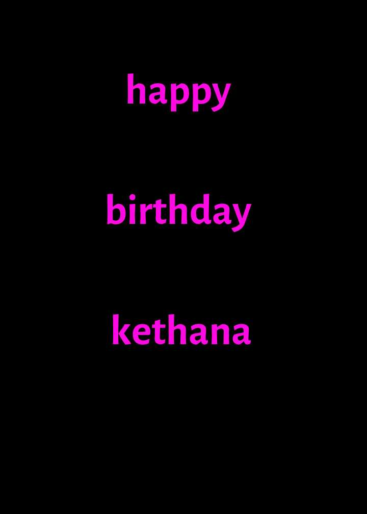 happy birthday ❤❤❤❤❤ - happy birthday kethana - ShareChat