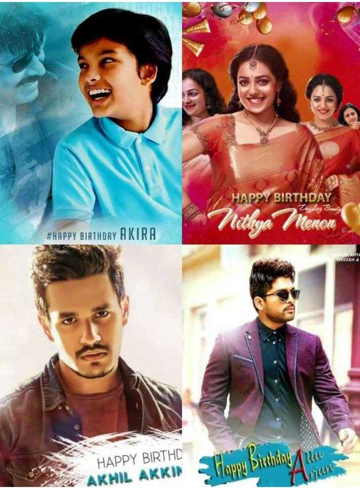 happy birthday - HAPPY BIRTHDAY Nethya Menon # HAPPY BIRTHDAY AKIRA MIRZAMA WANTA HAPPY BIRTHD AKHIL AKKIN Happy Birthday uw - ShareChat
