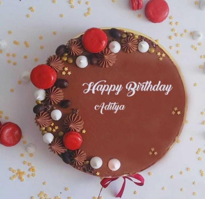 🎂 happy birthday 🎂 - Happy Birthday Aditya - ShareChat