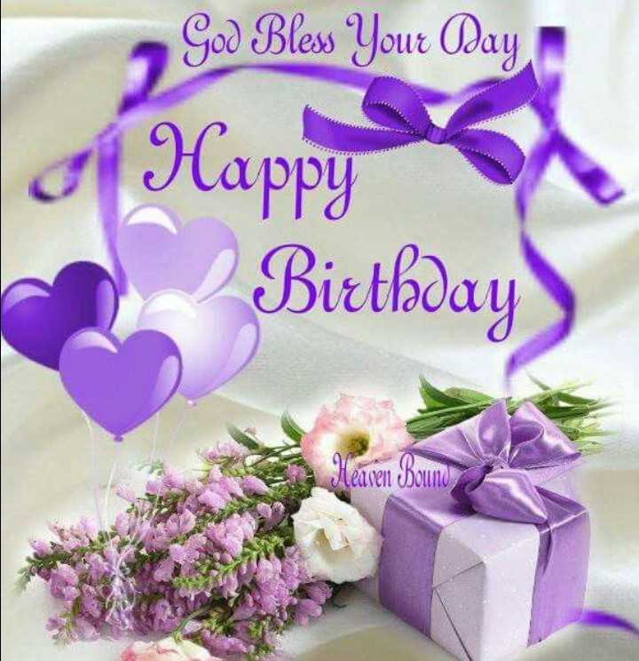 happy birthday 🌋🌋🌌 - God Bless Your Day Happy Birthday Heaven Bouno - ShareChat
