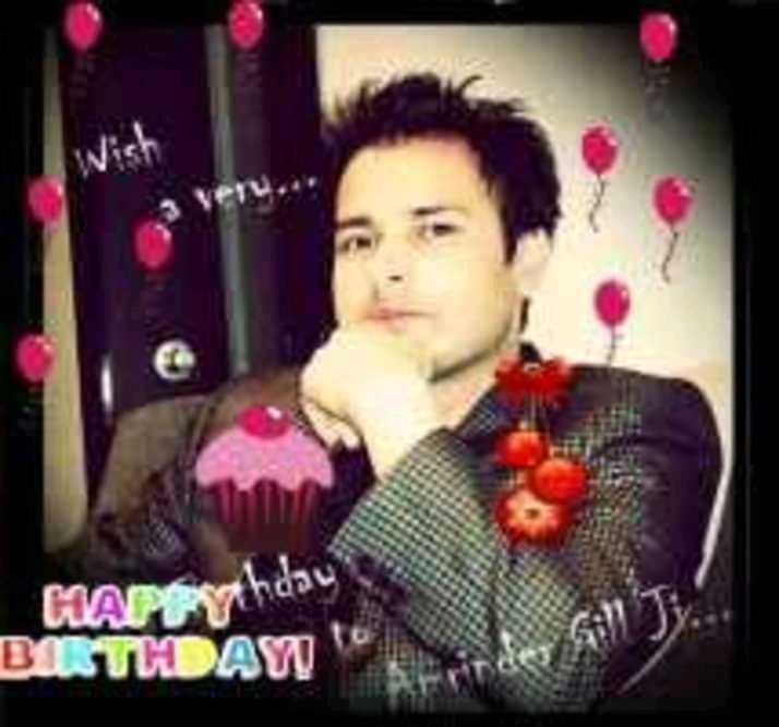 happy birthday amrinder gill ♥🎂 - HAPEYhday BISTKAW - ShareChat