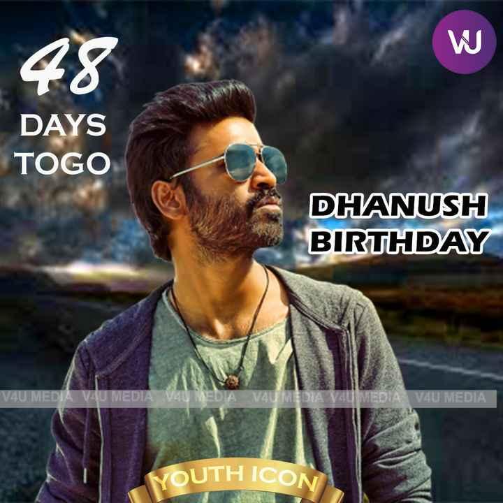 happy birthday dhanush - ShareChat