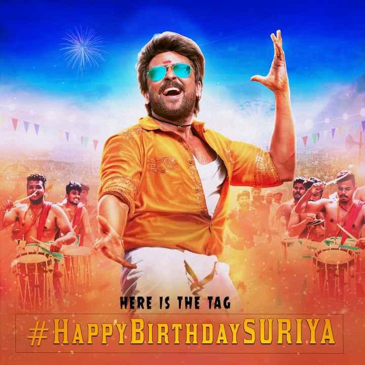happy birthday surya 🎂🎂🎂 - 3 HERE IS THE TAG # HAPPY BIRTHDAYSURIYA - ShareChat