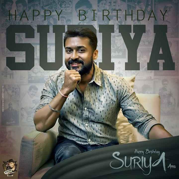happy birthday surya 🎂🎂🎂 - HAPPY BIRTHDAY SUSIYA Woo DESIGNING SREEKANTH Happy Birthday Sury . AKSEWA - ShareChat