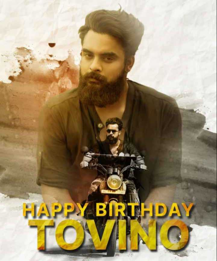 happy birthday tovino 😍😘 - HAPPY BIRTHDAY TOVINO - ShareChat