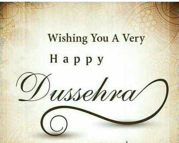 happy dussehra - Wishing You A Very Happy Dussehra o - ShareChat