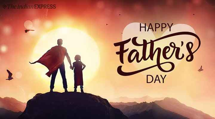 happy father's day💖😘 - The Indian EXPRESS HAPPY neay DAY - ShareChat