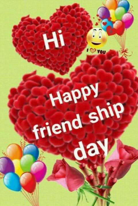 🌹🌹😊happy frdshp day😊🌹🌹 - Hi 1 YOU Happy friend ship day in - ShareChat