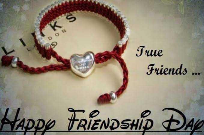 happy friendship👫👬👭 - KS LD ON True Friends . . . Happy FRIENDSHIP DAY - ShareChat