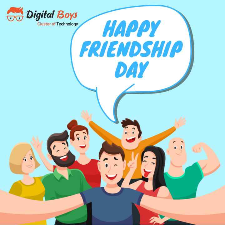 💟🖒happy friendship day👍💟 - 60 Digital Boys Cluster of Technology HAPPY FRIENDSHIP DAY - ShareChat