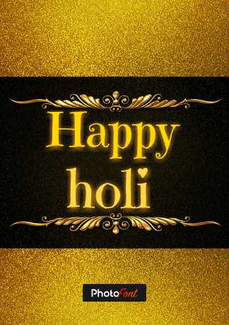 happy holi - Happy holi VOGNOME Photo ont - ShareChat