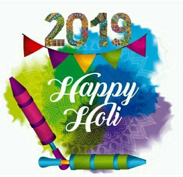 happy  holi - 2040 Slappy Sfoli - ShareChat