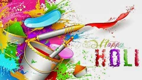 happy holi in advance - HOLI - ShareChat