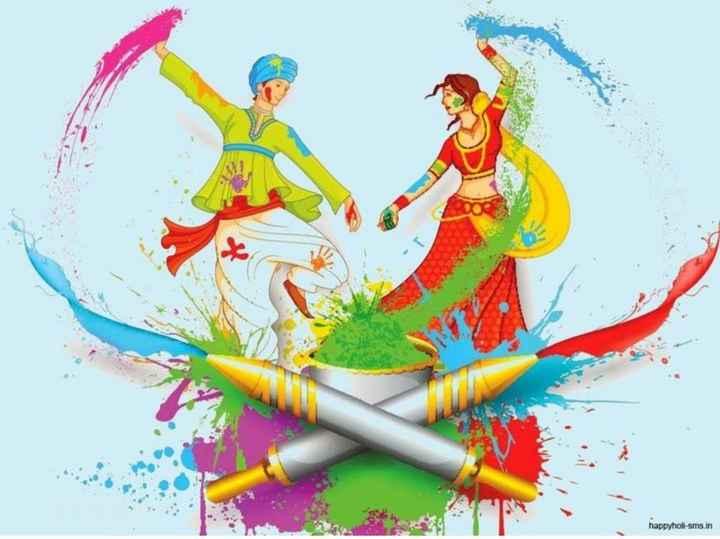 happy holi in advance - happyholi - sms . in - ShareChat