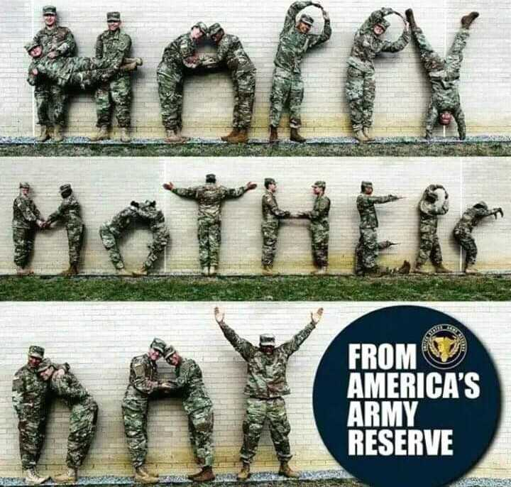 happy mother's day - MOTHER FROM AMERICA ' S ARMY RESERVE - ShareChat