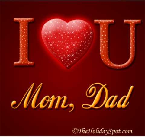 happy parents day..🍫🍫💐💐 - Mom , Dad Cthe Holiday Spot . com - ShareChat