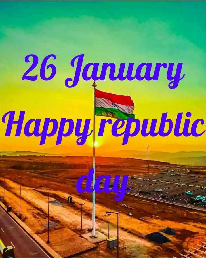 HAPPY REPUBLIC DAY  - 26 January Happy republic - ShareChat